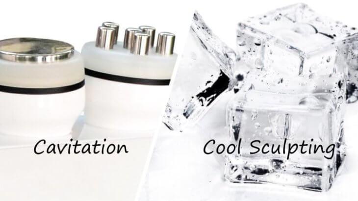 <効果比較>キャビテーションと脂肪冷却の違いとは?